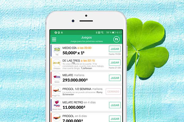 TuLotero la app que te trae la suerte