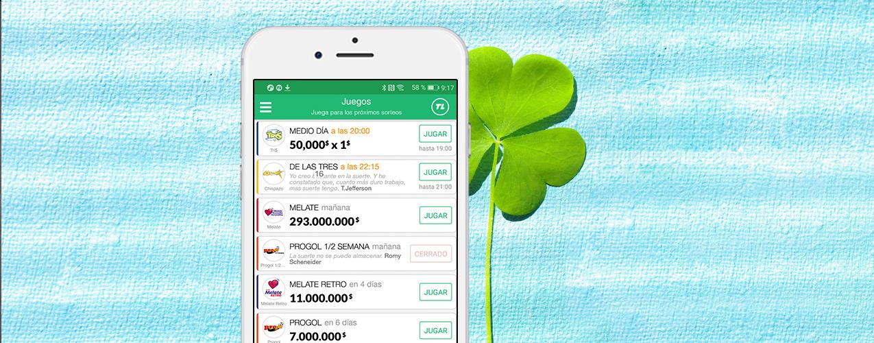 TuLotero: la app de sorteos y loterías que te da suerte
