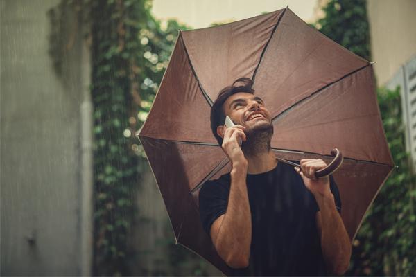 Un hombre se gano la lotería gracias al mal tiempo