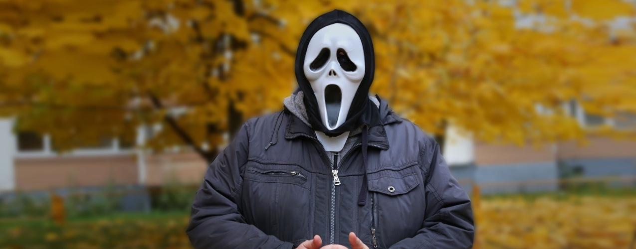 Hombre cobra premio millonario con máscara de Scream