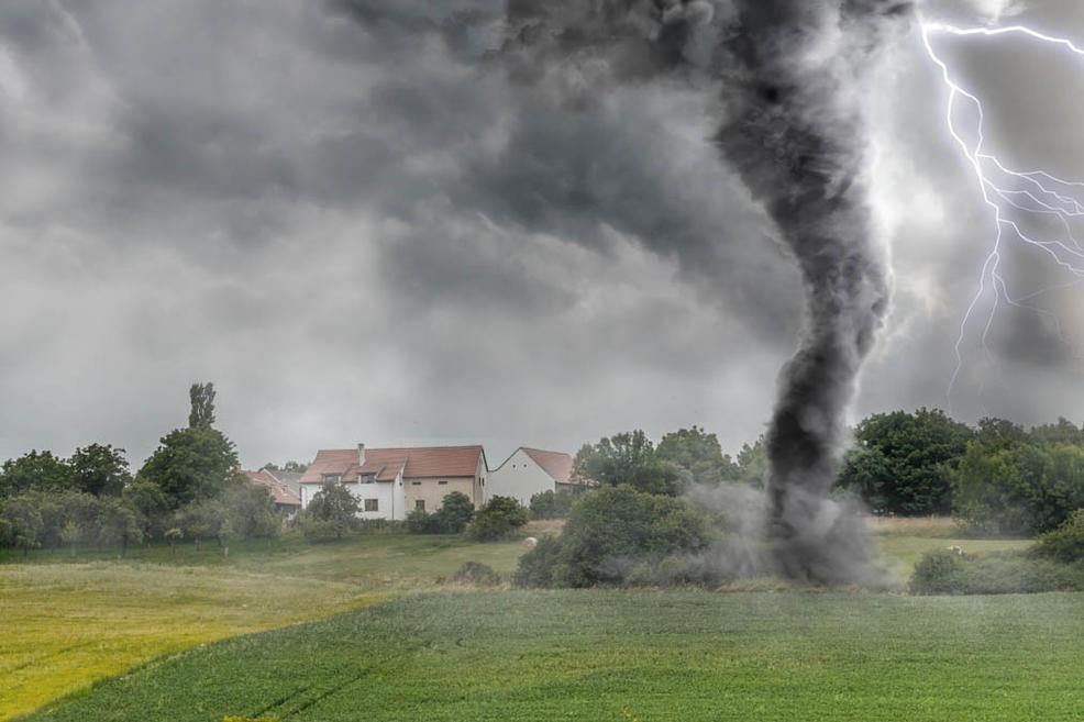Afectados por tornados