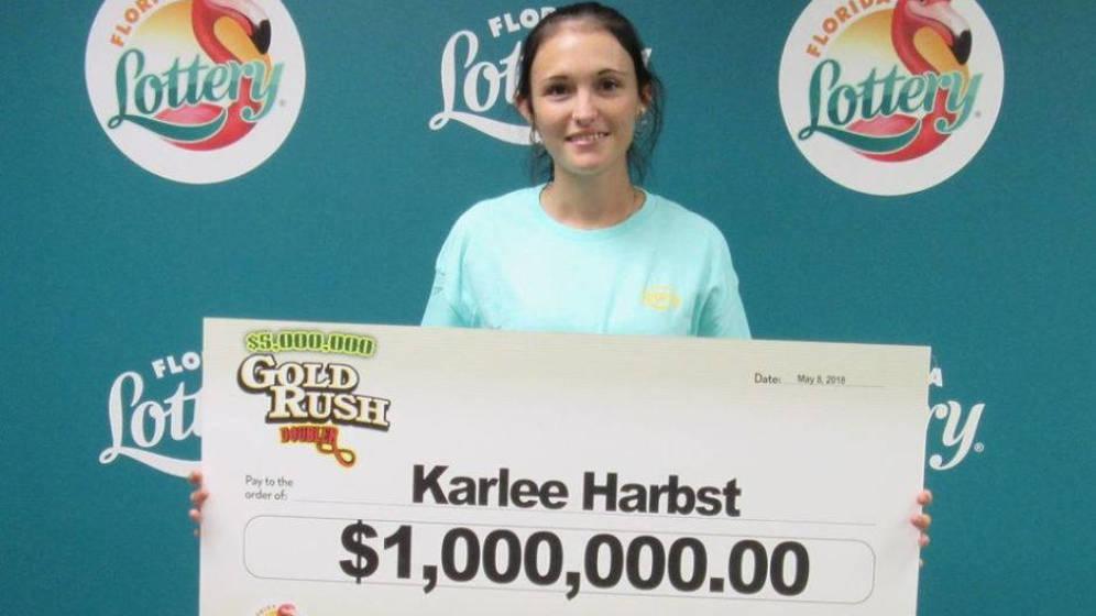 Ganó un millón en la lotería TuLotero