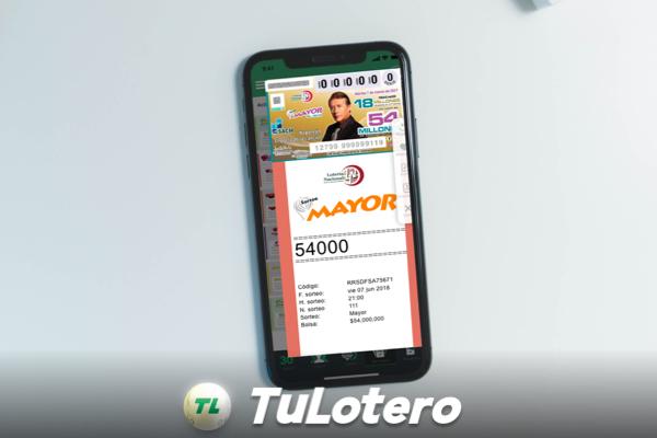 Sorteos de lotería nacional TuLotero