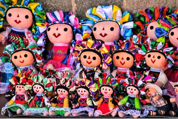 Muñecas María en el Sorteo Magno