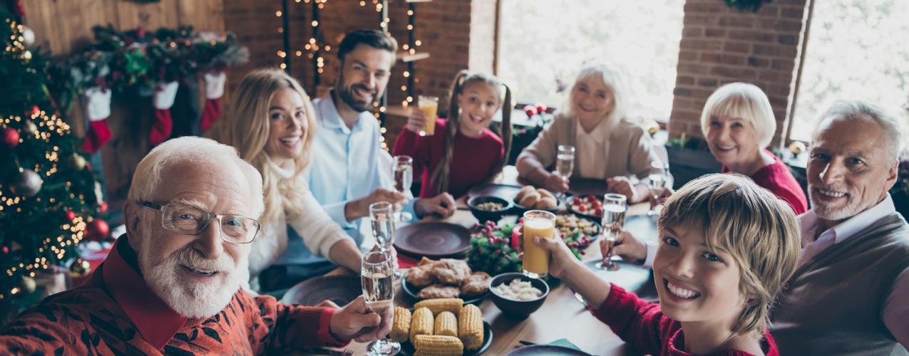 Cenas de Navidad y Año Nuevo para atraer la buena suerte