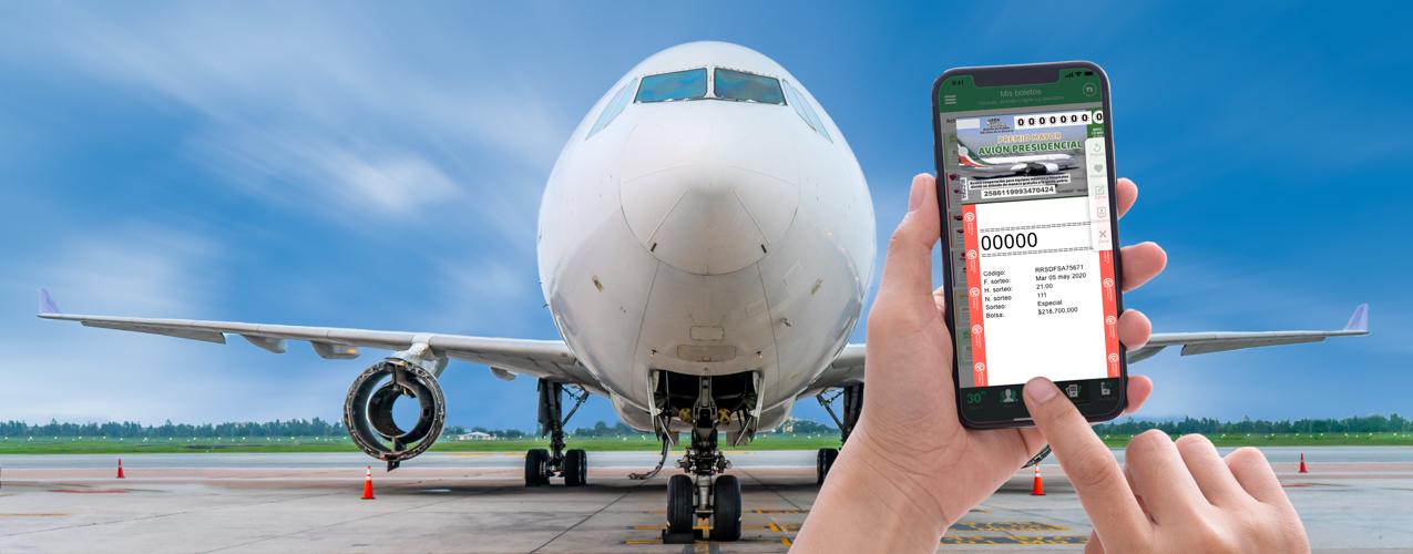 El avión presidencial de AMLO cada vez más cerca de ser rifado