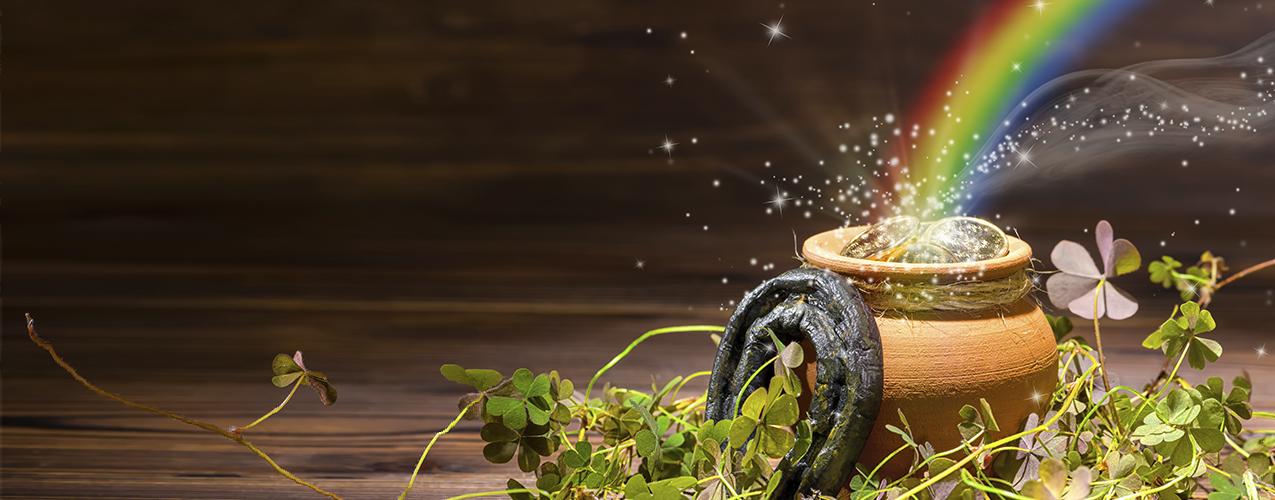 ¿Conoces la leyenda del tesoro al final del arcoiris?