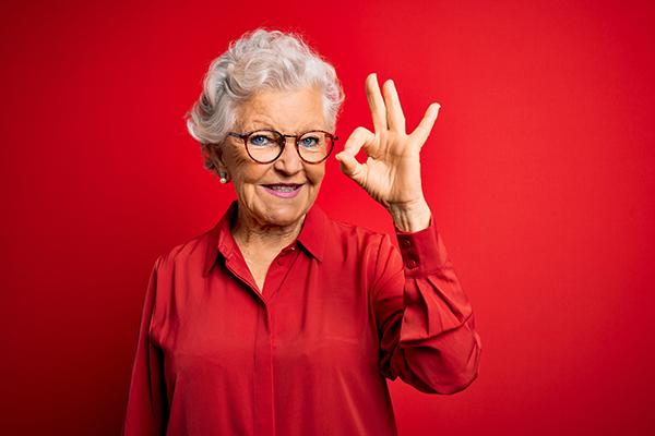 Una abuela gana la lotería