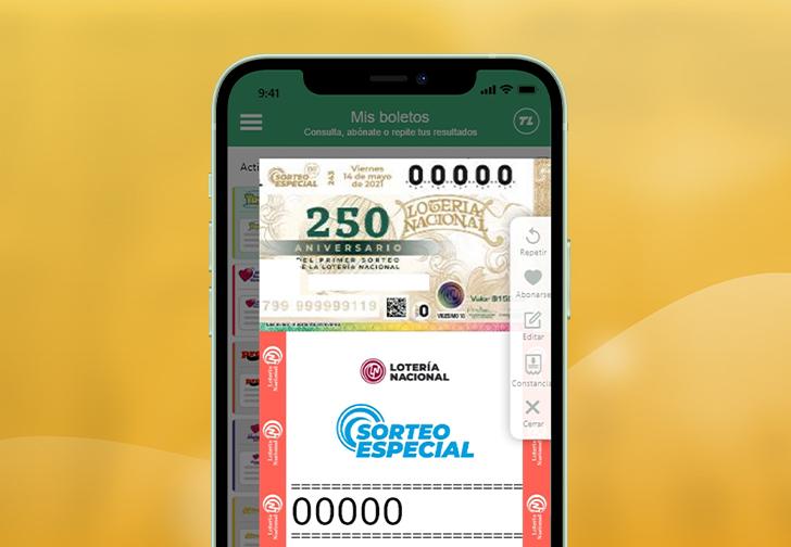 250 Aniversario de la Lotería Nacional en TuLotero