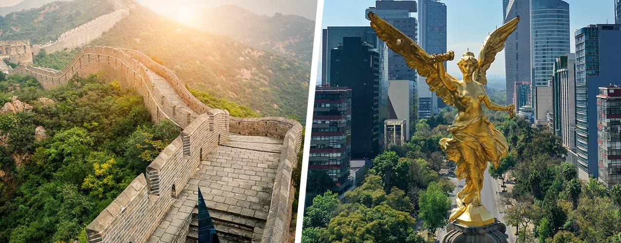 ¿Qué tienen en común la Gran Muralla China y la Independencia?