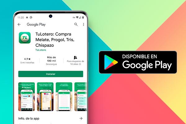 TuLotero disponible en Google Play
